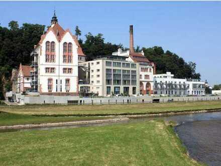 Provisionsfrei: 2-Zimmer-Wohnung mit Dachterrasse und Einbauküche in der alten Brauerei in Riegel