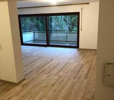 Stilvolle, vollständig renovierte 2-Zimmer-Wohnung mit Balkon und offener Küche in Bruchsal