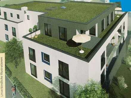 Exklusive 2-Zimmer-DG-Wohnung mit Terrasse zwischen 2 Penthousewohnungen in Ehningen