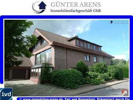 3 Zimmer Dachgeschosswohnung mit EBK, Balkon und Garage in Bad Zwischenahn