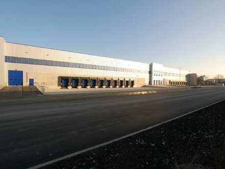 Nördlich von Darmstadt: NEUBAU: 25.000 qm Lager/Logistik | Mehrere Rampen + ebenerdig