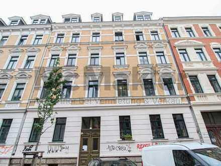 Sicher vermietete DG-Wohnung im lebendigen Leipzig-Connewitz