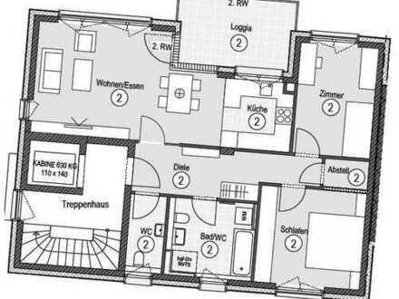 Schöne 3-Zimmer-Wohnung zu vermieten