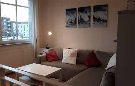 Stilvolle 2-Zimmer-Wohnung mit Balkon und EBK in Frankfurt am Main