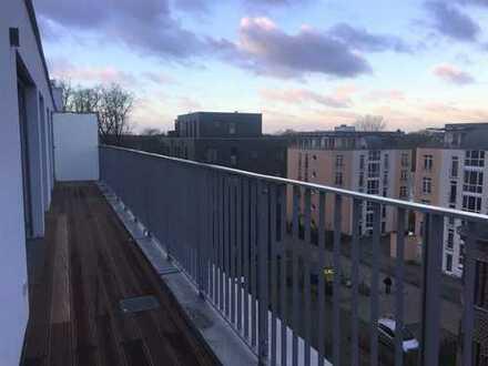 Wohn(T)RAUM im Dach mit Blick aufs Wasser