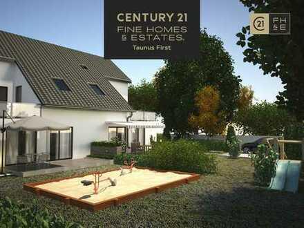NEUBAUVORHABEN: Exclusive Doppelhaushälte mit ca. 160 m² Wohnfläche, 5 Zimmer, Bad Homburg v.d.H.