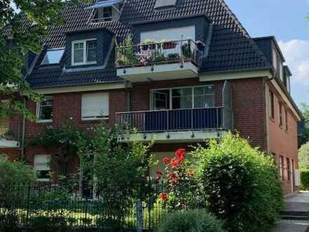 Zwei-Zimmer-Wohnung mit 2 Balkonen und Tiefgaragenstellplatz!