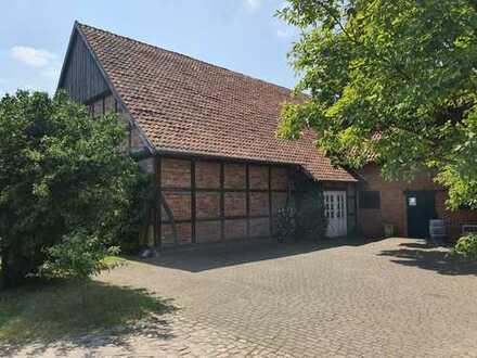 Büro / Lager / Produktion im Fachwerkhaus -- Wedemark Ortsteil Negenborn