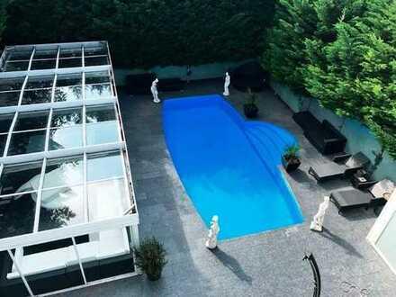 Wunderschöne Villa (1-3 Fam.-Haus) ca.11,3 Ar Grdstck. in Toplage ca. 315 m² WFL + Bauplatz optional