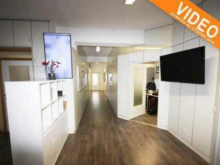 Große, moderne Büroetage mit mind. 10 Arbeitsplätzen, Konferenzraum, gr. Küche und 4 Stellplätzen!