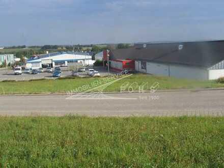 Büro/Praxisflächen 850 m²(teilbar) neben Fachmarkt + 120 Parkplätze in Vöhringen/Württ.