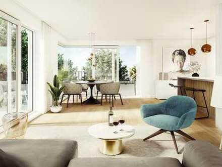 Elegante Neubau-Penthousewohnung, Südwestausrichtung, ruhige Wohnlage, 15 Radmin. zum Marienplatz!!