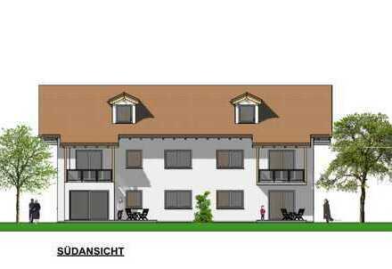 2-Zi.-ETW im 1OG mit Balkon, im Neubauprojekt in Saaldorf.