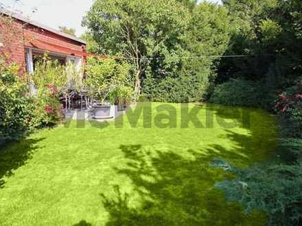 Kapitalanlage: Gut vermieteter Bungalow mit Garage und großem Garten - Erbpachtgrundstück