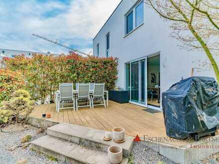 Hochwertige Doppelhaushalte im Neubaugebiet von Heidelberg-Kirchheim