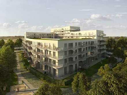 PROVISIONSFREI - Neubau: Erstbezug mit EBK und Loggia: moderne 2-Zimmer-Wohnung in Germering