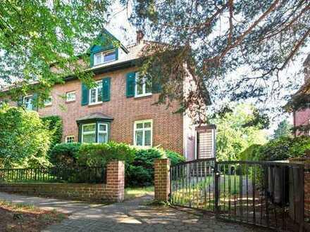 Vermietete Rotklinker-Villa in bester Lage von Bergedorf