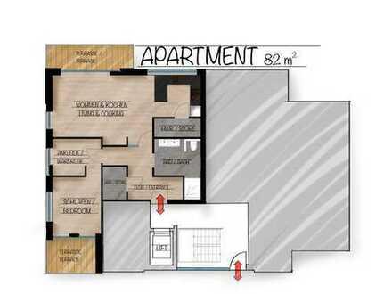 Erstbezug Erdgeschosswohnung 2 Zimmer, Bad, Einbauküche Papenburg Untenende