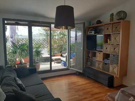 Von privat: 3-Zi-Penthouse Whg. mit 2 Dachterrassen, EBK und Tiefgarage in MZ-Gonsenheim