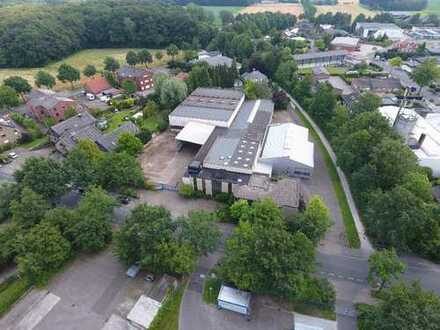 1030 m² Halle mit Kran und 468 m² Außenfläche in Münster West