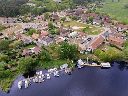 Wassergrundstück an der Havel mit Marina, Slipanlage, Restaurant, Biergarten und Ferienwohnungen