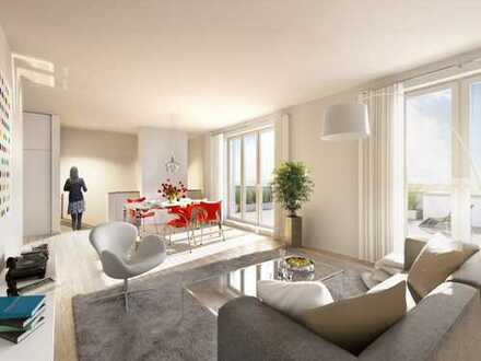Einmalige Dachterrassenwohnung mit 4 Zimmern zu vermieten!