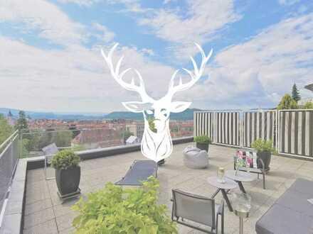 Traumhafte Design-Wohnung mit einzigartiger Terrasse und einem grenzenlosen Ausblick über Waldshut z