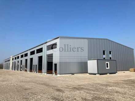 FERTIGSTELLUNG MAI | 500 m² Produktions- und Lagerfläche in Leipziger Gewerbepark