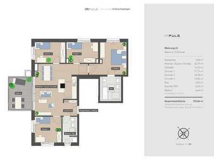 Höchster Wohnkomfort auf 5 Zimmer verteilt
