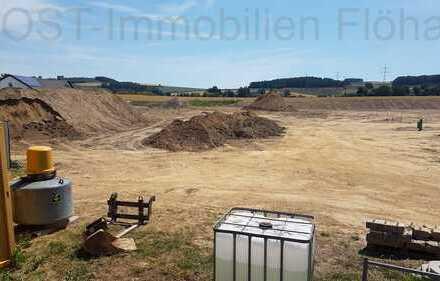 Baugrundstück in Klaffenbach, Wohngebiet, verschiedene Größen
