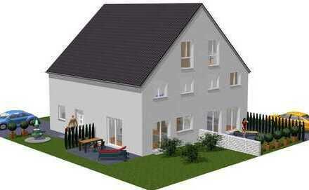 NEUBAU - Doppelhaushälfte, wohnen in grüner und stadtnaher Lage.