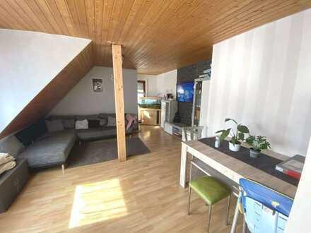 Attraktive 3,5 Zimmer DG-Maisonette-Wohnung im Herzen von Dettingen