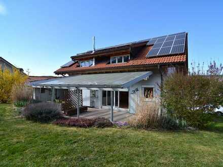 Superschickes Einfamilienhaus in Unteralpfen mit allem Pipapo - Doppelgarage, Gartenlounge, etc.