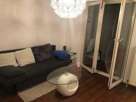 Teilmöblierte 1-Zimmerwohnung mit Kellerraum und Tiefgaragenstellplatz