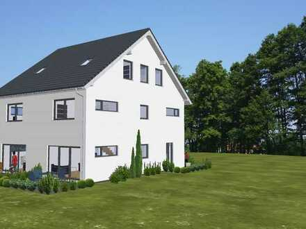 Neubau - Effiziente Doppelhaushälfte in Büttelborn