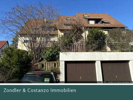 Sehr schöne 2-Zi.-Wohnung mit Südbalkon und EBK in Traumlage! + beh. Hobbyraum + Pkw-Stpl.