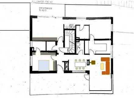 Gepflegte 4-Zimmer-Penthouse-Wohnung mit Balkon und EBK in Augsburg