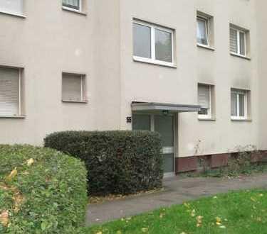 Schön geschnittene 2-Zimmer-Wohnung in gepflegtem, parkähnlichem Umfeld von Duisburg Marxloh