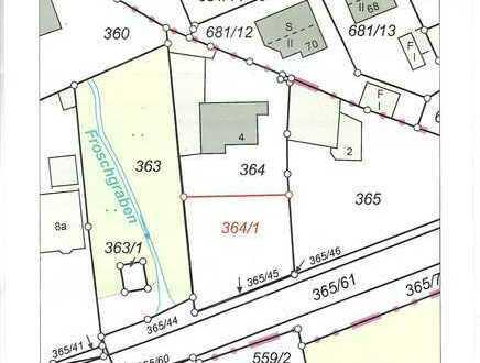 Baugrundstück mit Planung für Mikroappartements in Niederndorf