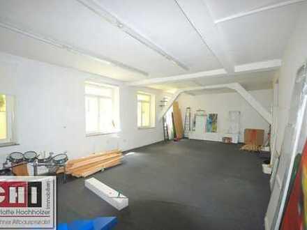 München-Westend - super Halle, Büro, Atelier, Loftcharakter - mit 130 m2 Lager im Untergeschoß