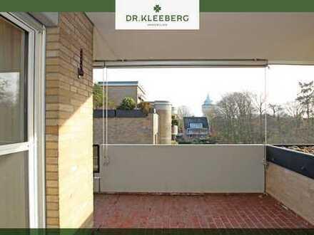 Großzügige 2-Zimmerwohnung mit Süd/Ost-Loggia in Münster-Geist