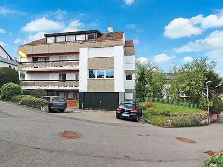 1-Zimmer-Appartement mit Südwest-Balkon: Wohnen mit Ausblick in Stuttgart-Kaltental