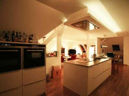 Traumküche inkl. Kochinsel | Loft | 2 Bäder | Dachterrasse | unverbauter Blick | 4 Zimmer | Wohnung