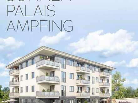 Moderne 2-Zimmer-Wohnung, Neubau, mit Südbalkon und EBK