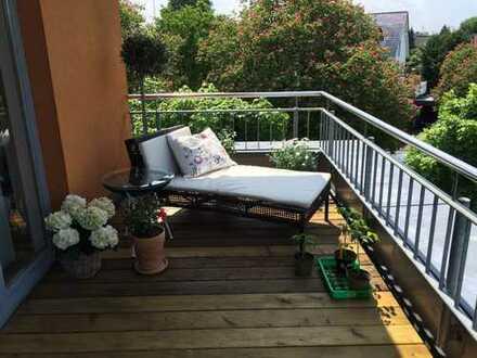 Traumhafte Penthouse Wohnung in zentraler Grünlage von Bonn-Röttgen