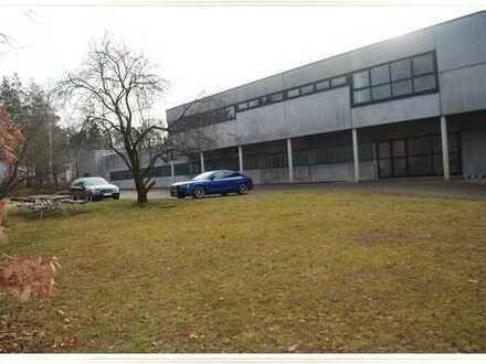 Halle für Produktion, Lager und Büro im Gewerbegebiet Schwabach