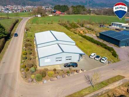 Hochmoderne Gewerbeimmobilie mit guter Verkehrsanbindung in Beckingen-Reimsbach