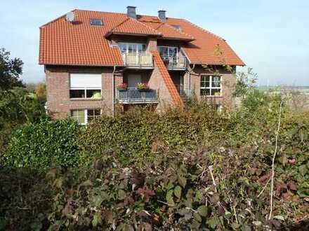 Sehr ruhige Wohnung in Büsdorf bei Stommeln, traumhafte Lage mit Fernblick