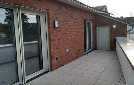 Exklusive, neuwertige 3-Zimmer-Passivhaus-Wohnung mit großer Süd-West-Dachterrasse in Türnich