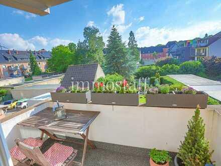 EIGENTUMSWOHNUNG im 2. OG mit Balkon & Garage in Bottrop-Stadtmitte zu verkaufen!